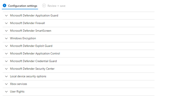 Device Management Settings